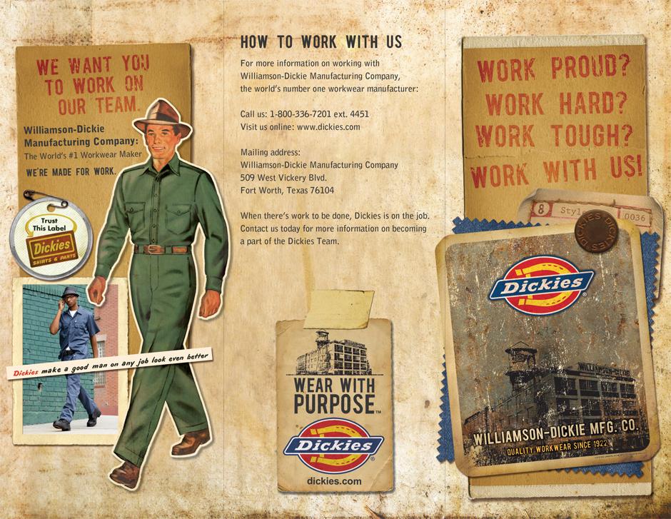 Dickies HR Department Brochure