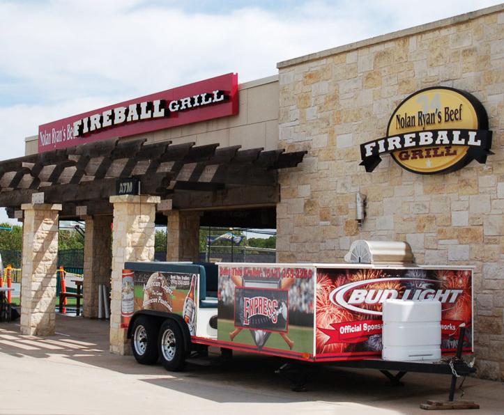 Nolan Ryan's Fireball Grill